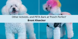 Brent Kloecker, Other Activists, and PETA Bark at 'Pooch Perfect'